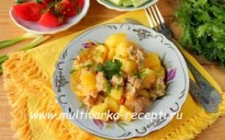 Картошка с фаршем в мультиварке – рецепты как приготовить