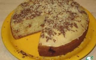 Пирог на кислом молоке в мультиварке