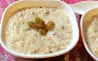 Несколько рецептов приготовления пшеничной каши на молоке в мультиварках Редмонд и Поларис