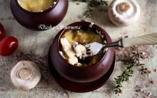 Как приготовить жульен с грибами и курицей