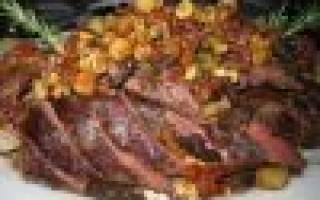 Как приготовить мясо косули