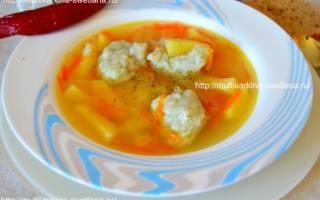Суп с клецками в мультиварке, вкусно и просто