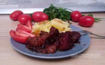 Как приготовить свинину с черносливом