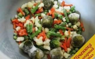 Как приготовить замороженные овощи в мультиварке – рецепты