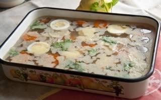 Готовим вкусный холодец с овощами в мультиварке
